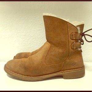 UGG Mid High Boots with Bow
